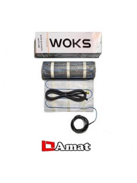 Нагревательный мат WoksMat  80w - 0,5 m²