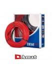 Нагревательный кабель  Devi Flex 18T- 180W - 1.0m²  - 10.0m