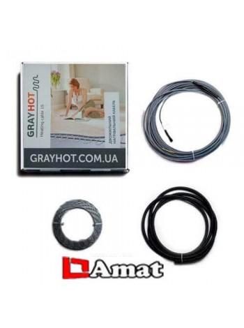 Нагревательный  кабель Grey Hot -186W