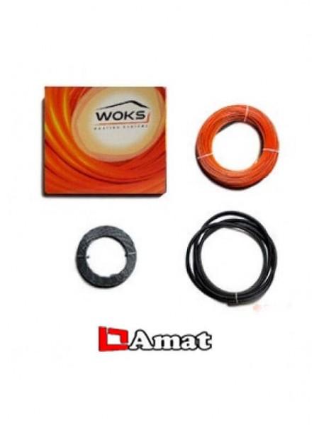 Нагревательный  тонкий кабель Woks 10 -115W
