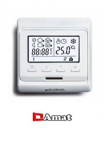 Программируемый терморегулятор для теплого пола Menred E 51